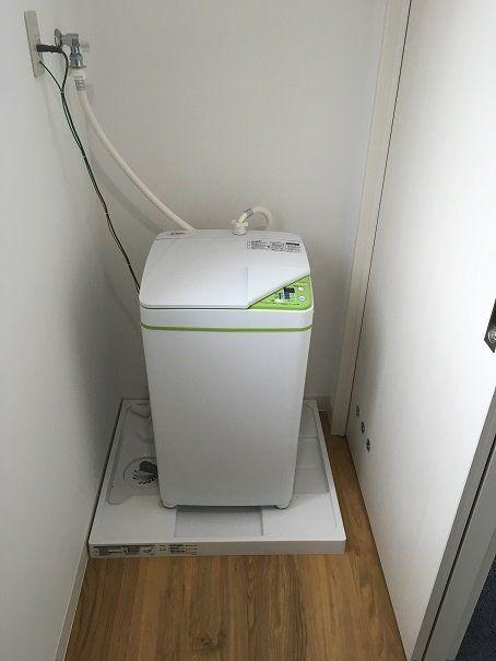 洗濯機の水漏れを防止しましょう。