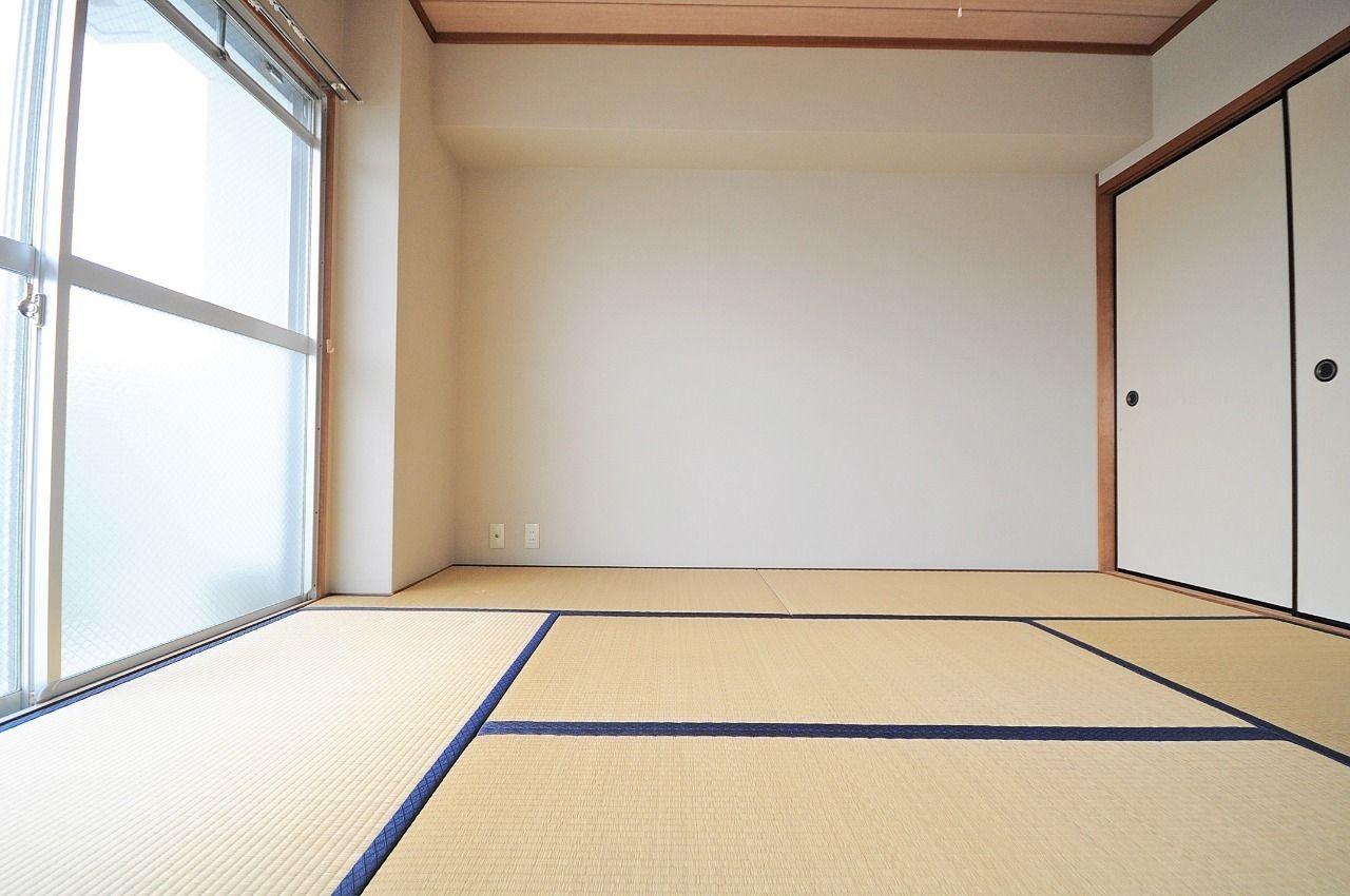 今回このお部屋は和室から洋室へ変更となります。完全洋室で、使いやすさUPです!