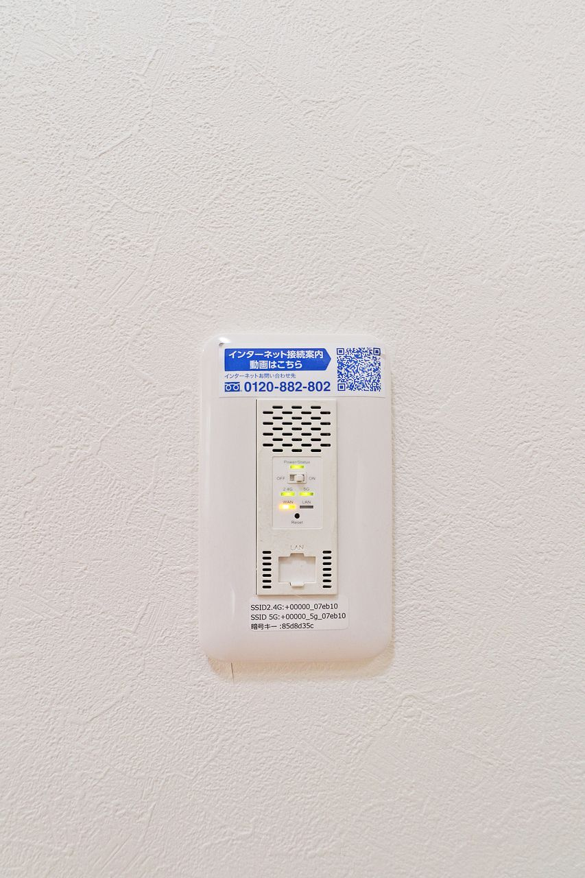 手間のかかる回線契約や工事は一切不要で入居して即日でWiFiが使用できます。無料なので回線契約を検討されている方はその分違うことにお金を回せますね。