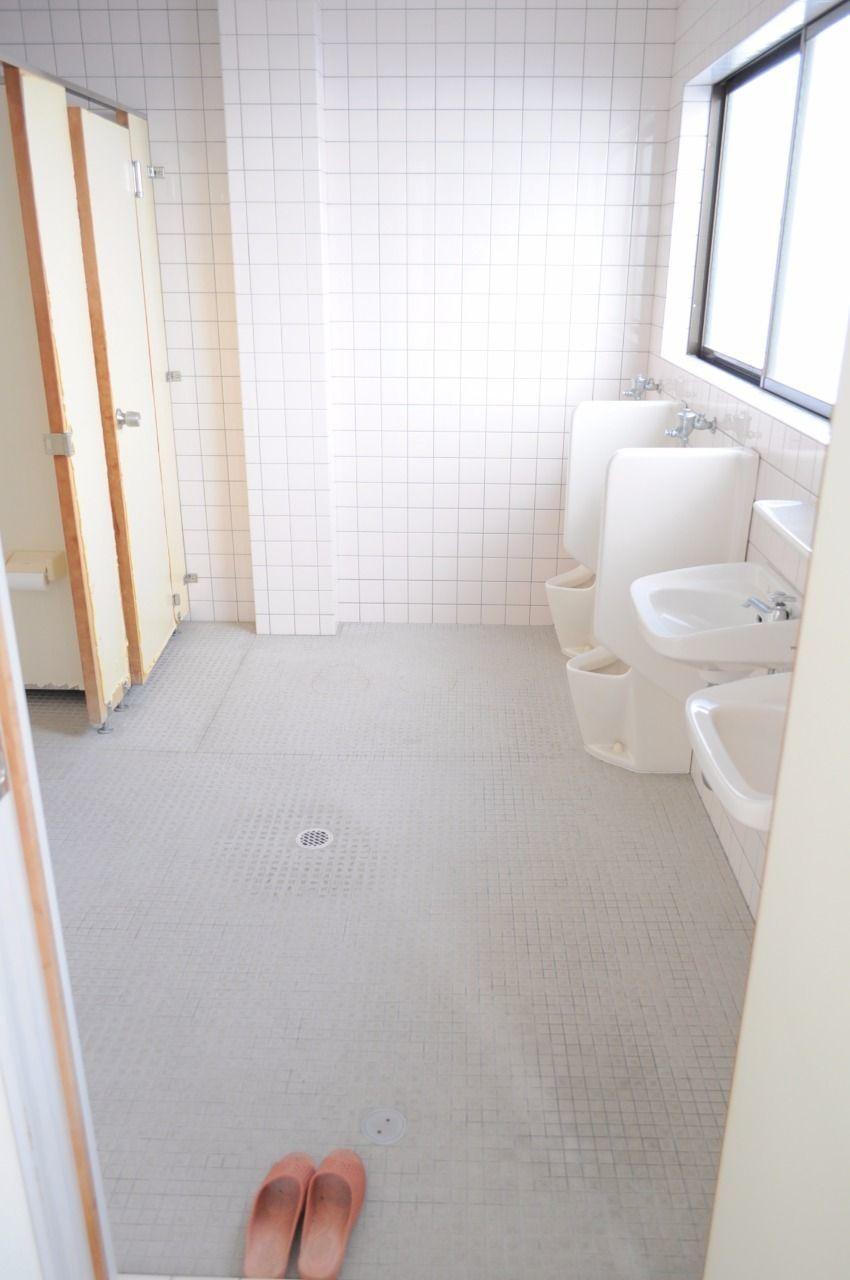トイレは共用になります。