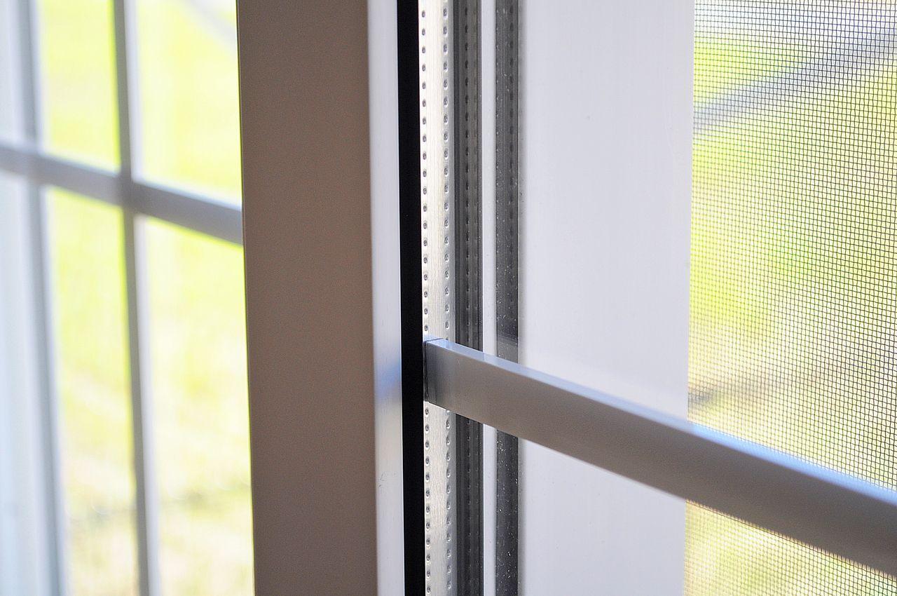 空調機と相性のよい2層ガラス。室内の温度管理もしながら省エネにも役立ちます。