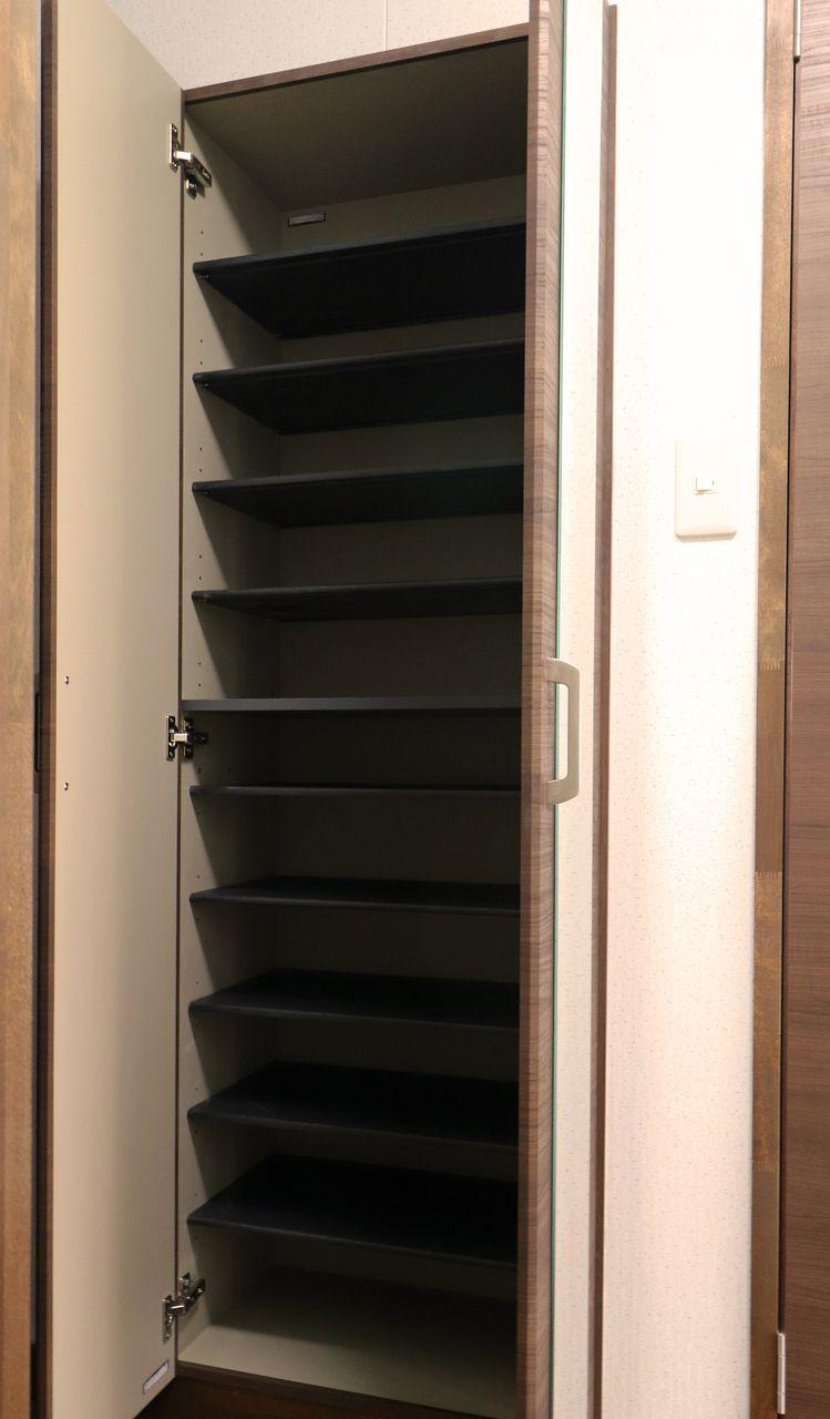 玄関はいつもスマートに。シューズボックスしっかり付いてますよ(*´∀`*)