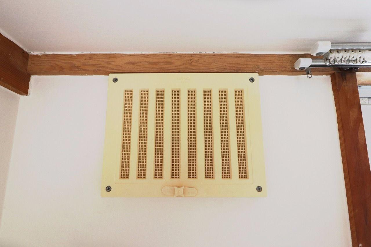 鉄筋コンクリート造という躯体がしっかりしている分、24時間の換気が必要です。しっかりした換気で清潔に保ちましょう!