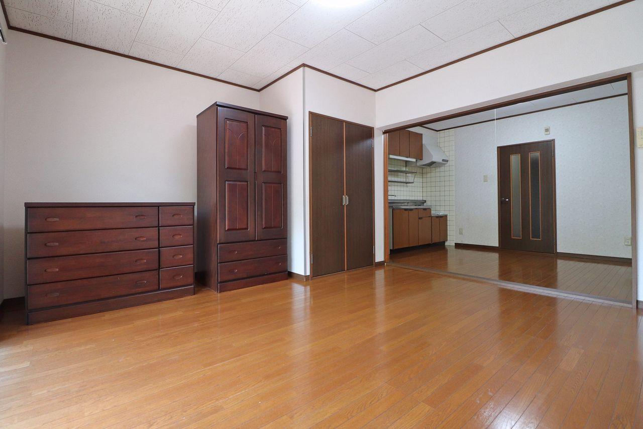 様々な収納があなたの暮らしをサポート。新居での家具の買い替えもしなくて良いのでお財布にも優しいですね。