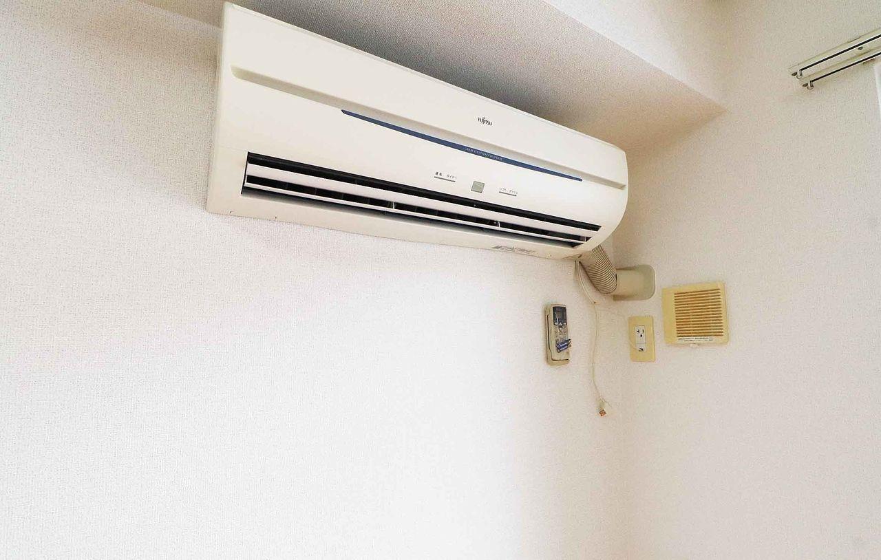 LDKにはエアコンがついています。快適な空間でくつろげそうです。