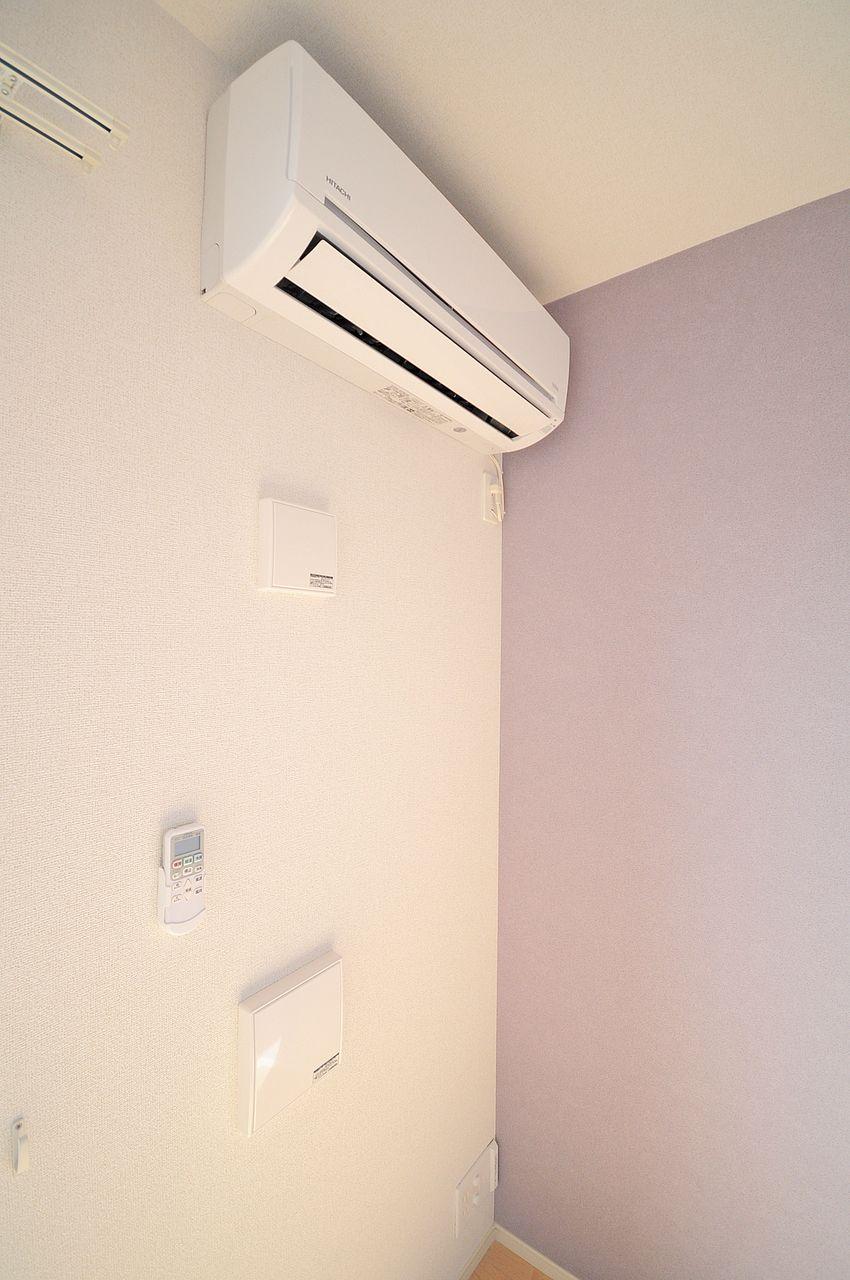 全室エアコン装備!自分でエアコンを買う必要がないのでお財布に優しいですね♪
