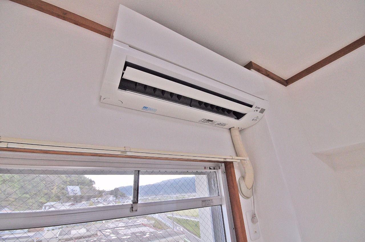 各和室にエアコン2台新設!新品の物が付く安心感があります。