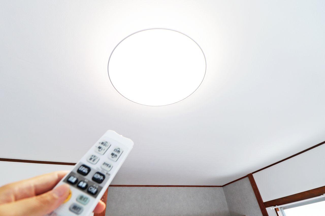 入居当日、夜になる前に照明設置しなきゃ!なんて慌てる必要なし。買い揃える必要もなし!嬉しい全室照明付き。
