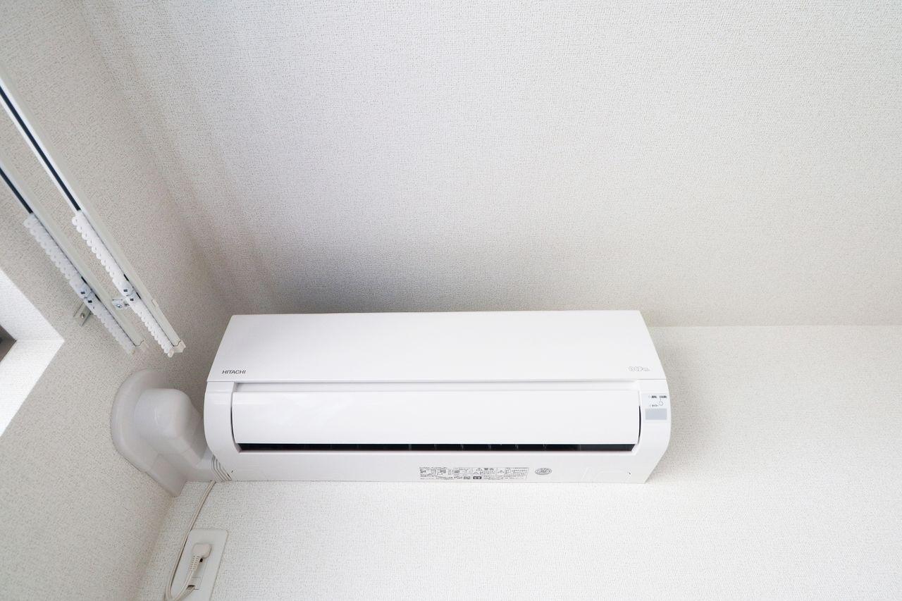 全室エアコン付き♪どこのお部屋に居ても快適に過ごせます。