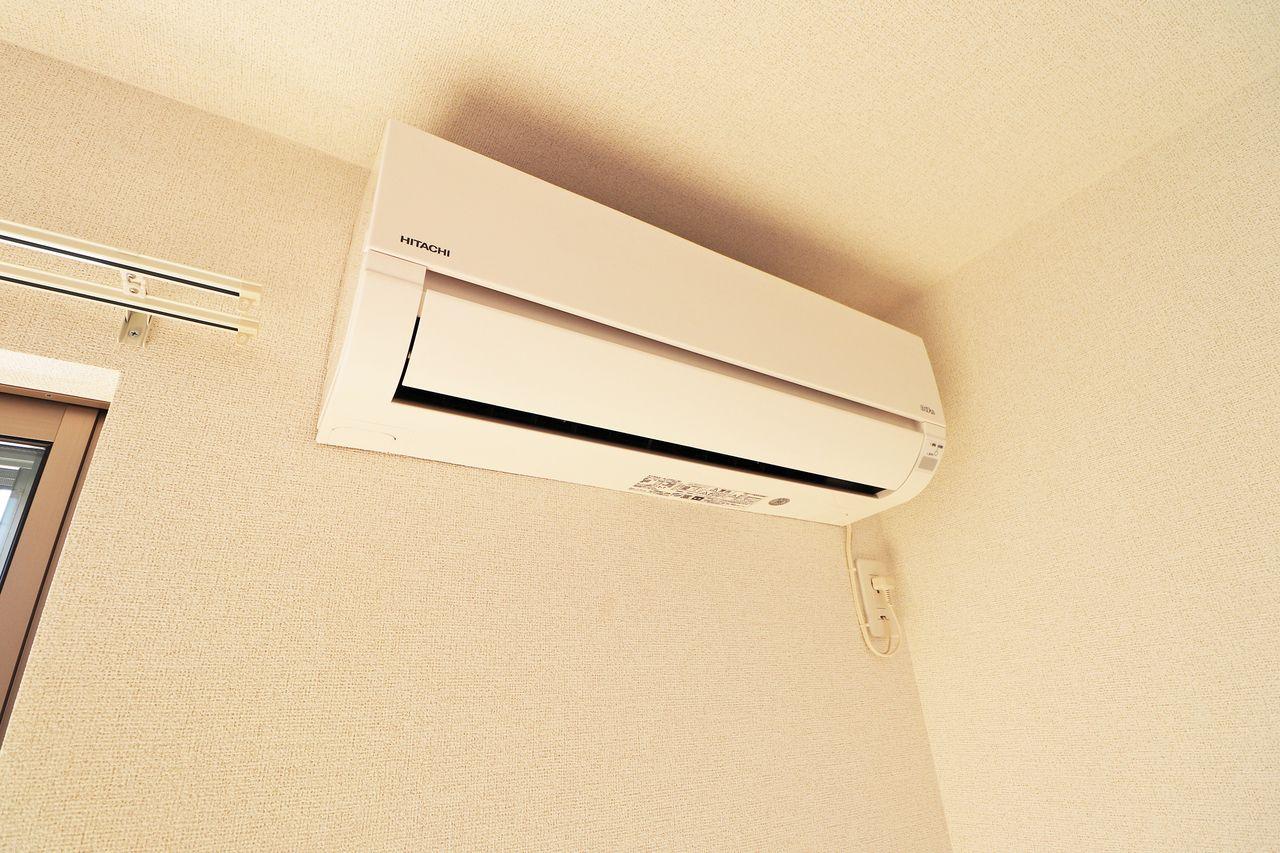エアコンが設備として3台設置される予定になっています(^^)入居後も快適にお過ごしください。