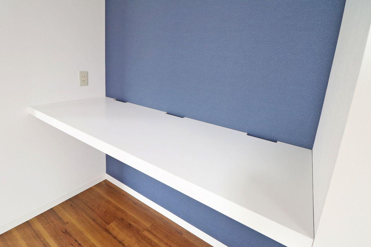 ちょうど良い位置に配置されたテレビボードが◎