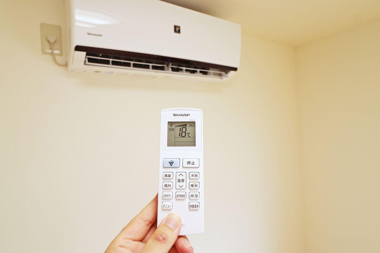 NAハウスは1F・2Fの洋室にエアコンが付いています!