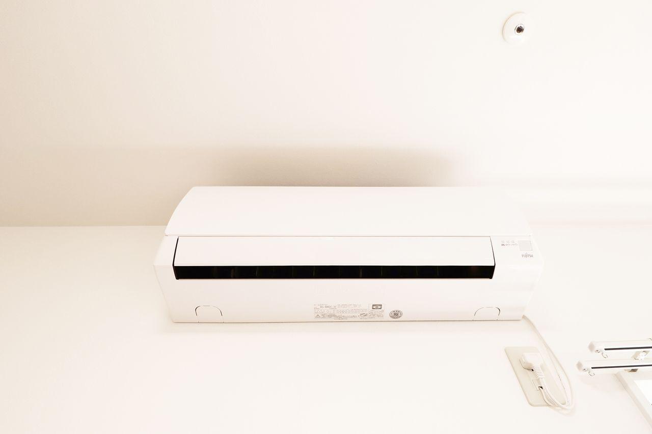 LDKと各洋室にはエアコンが設置されています。どのお部屋にいても快適に過ごせます♪