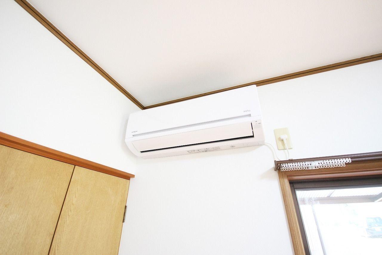全室エアコン付きです!