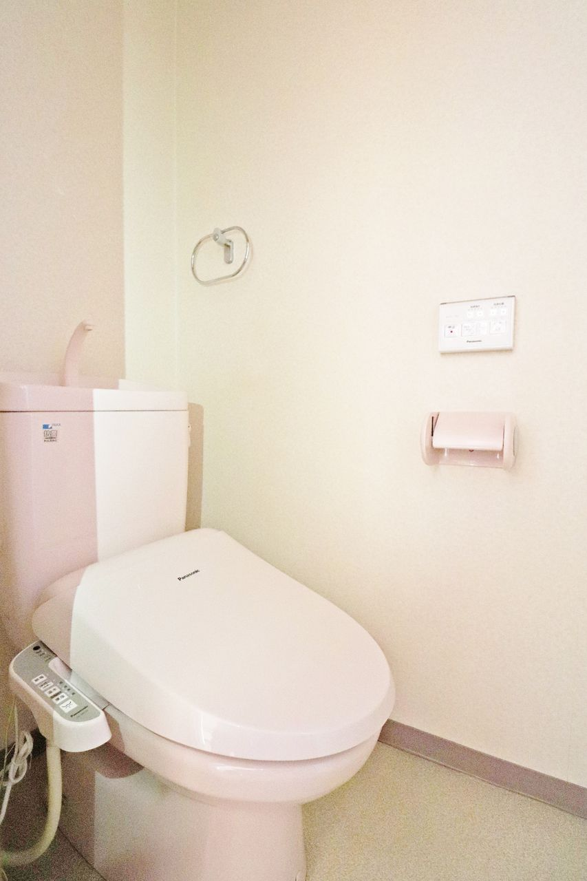 とっても衛生的で、トイレットペーパーの節約にもなる優秀な設備です!