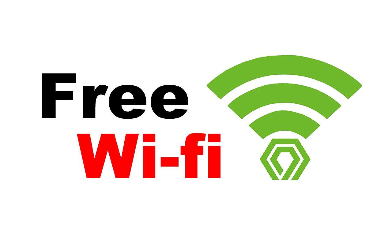 無料でWi-Fiを使用できる設備を導入しました。
