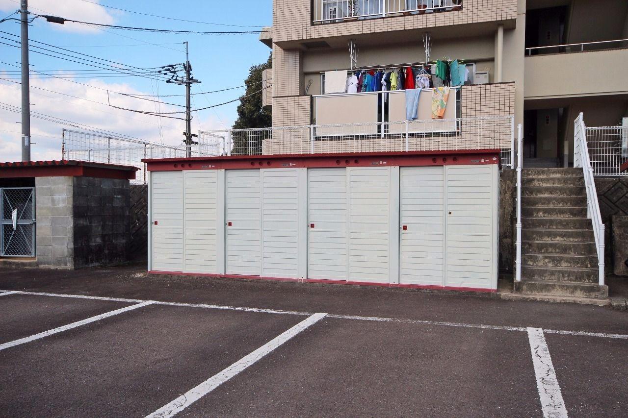 ヤマモト地所の山本 祐司がご紹介する賃貸マンションの夕陽ヶ丘ハイツ 303の外観の4枚目