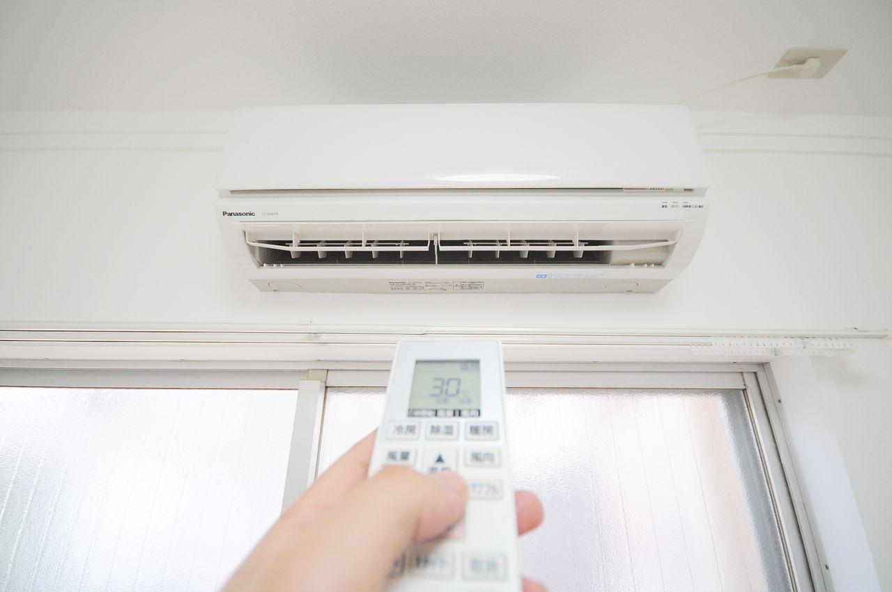 LDK、洋室、和室にそれぞれエアコンがついています♪どのお部屋にいても快適に過ごせますね。