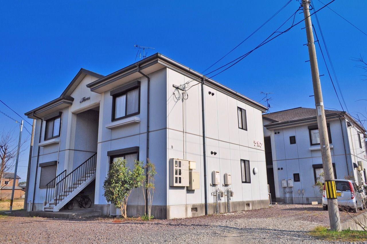 ヤマモト地所の夕部 大輔がご紹介する賃貸アパートのラピンラポンA 202の外観の4枚目