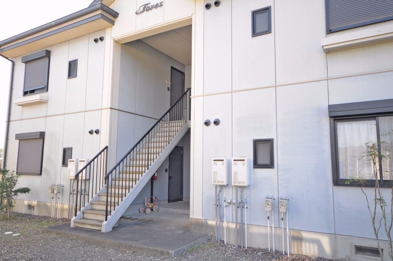 ヤマモト地所の夕部 大輔がご紹介する賃貸アパートのラピンラポンA 202の外観の1枚目