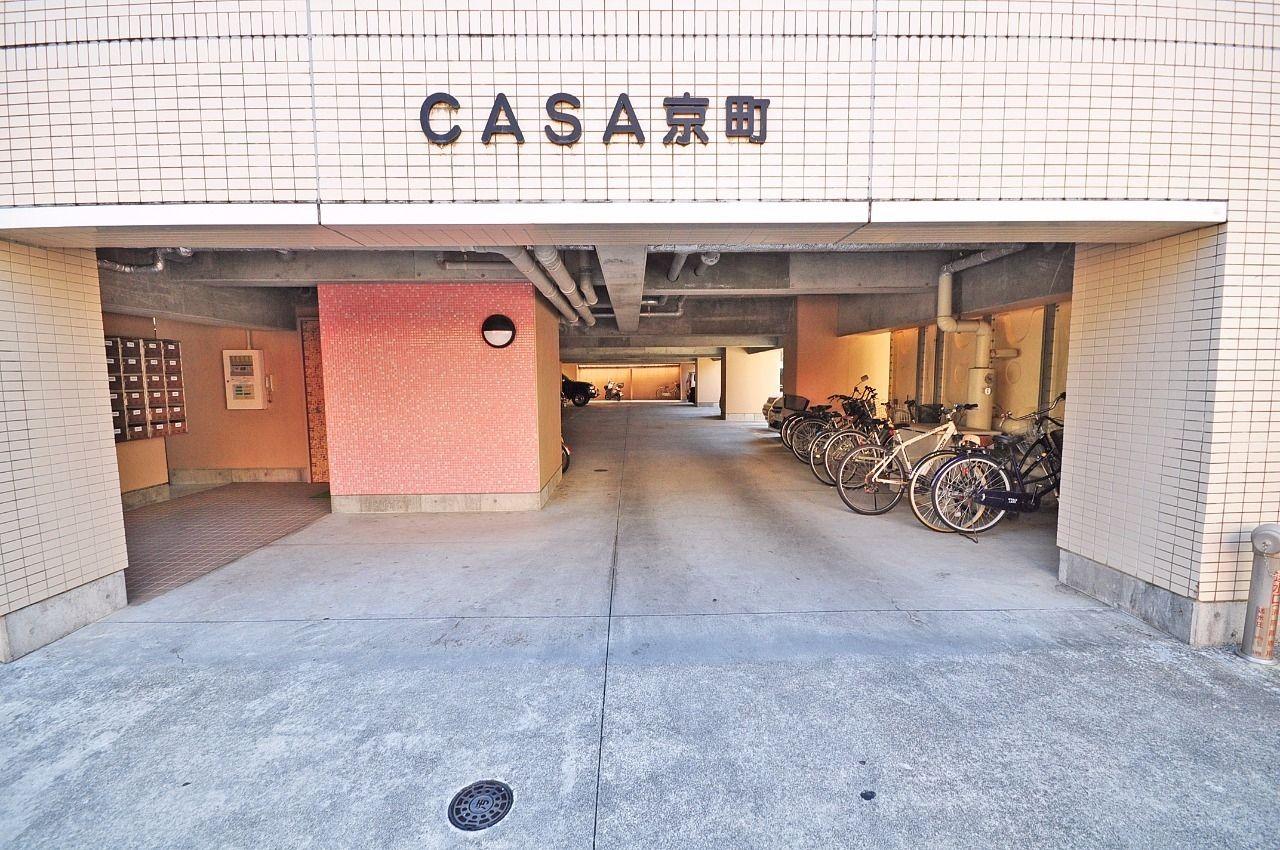 ヤマモト地所の夕部 大輔がご紹介する賃貸マンションのカーサ京町 307の外観の2枚目