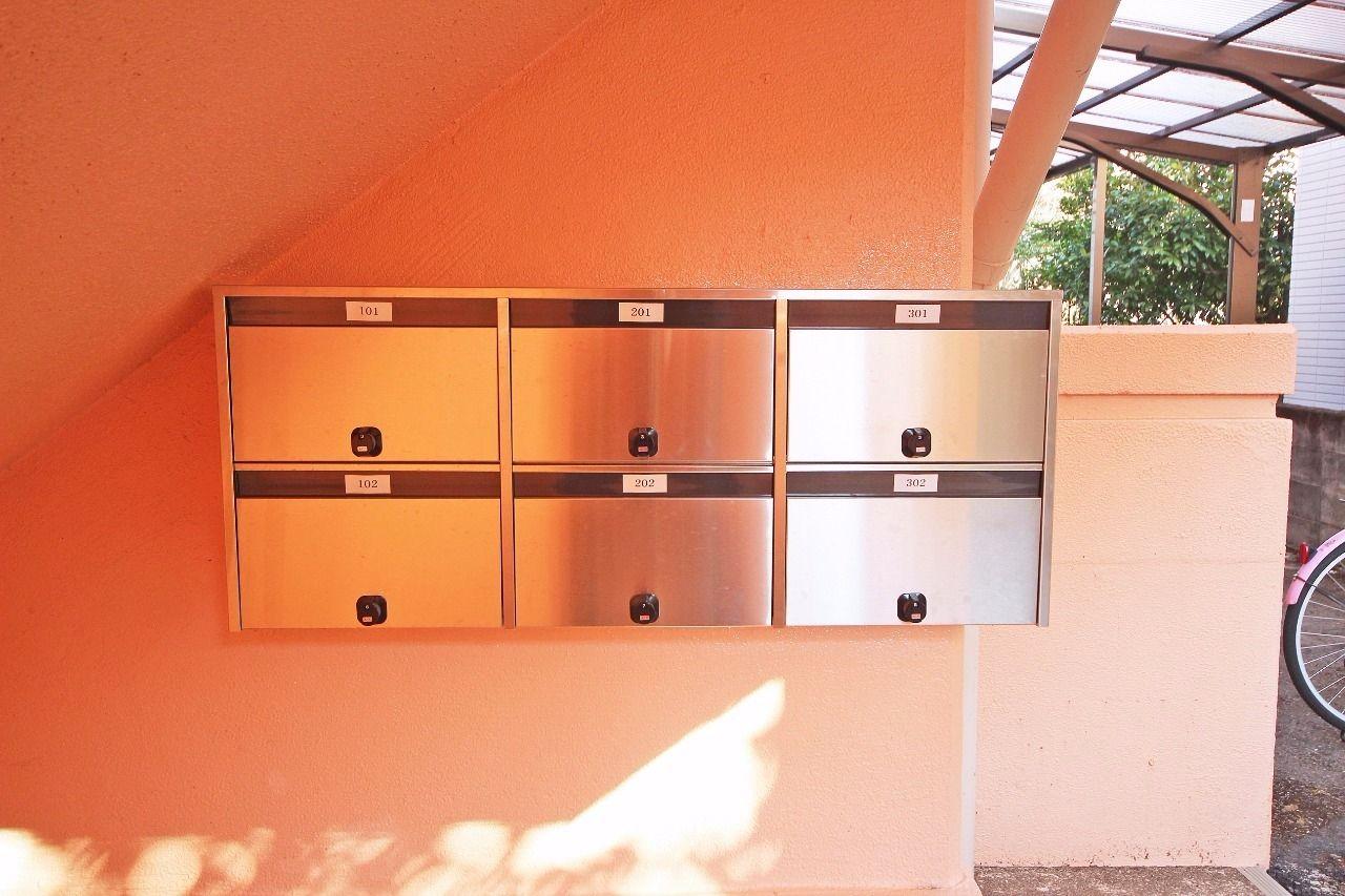 入居者様のプライバシーの保護に役立つダイヤル錠が付いています。