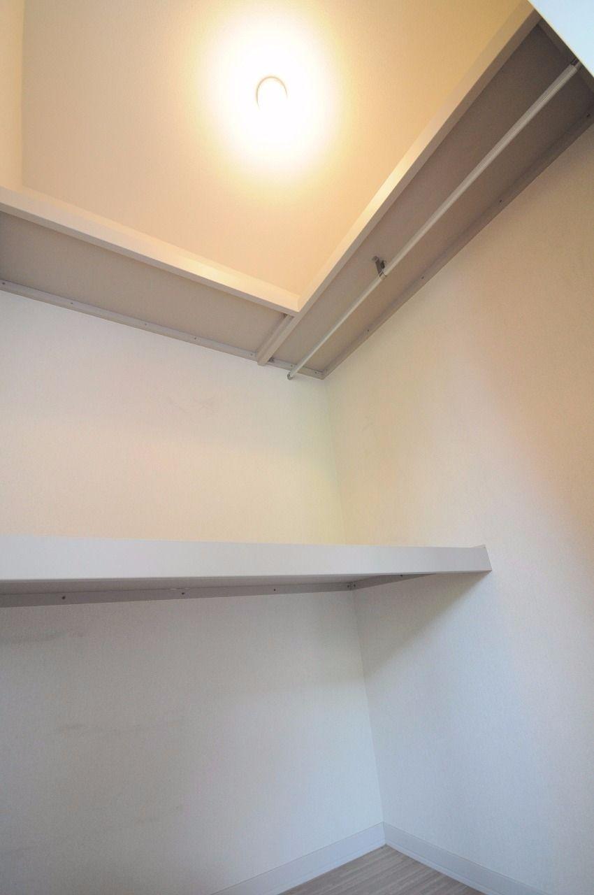 単身用の物件では珍しい設備。一つあれば、お部屋をスッキリできるはず!