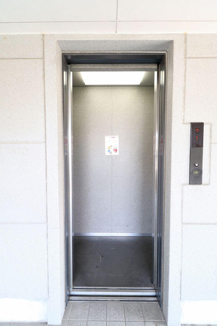 エレベーターがあるので、毎日の上り下りも楽にできます。