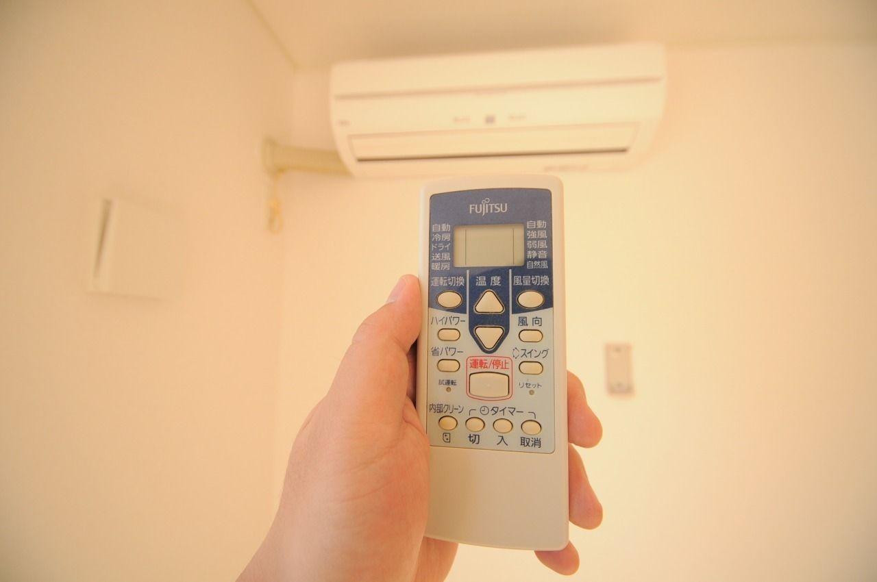 設備としてLDKにエアコンが付いています。