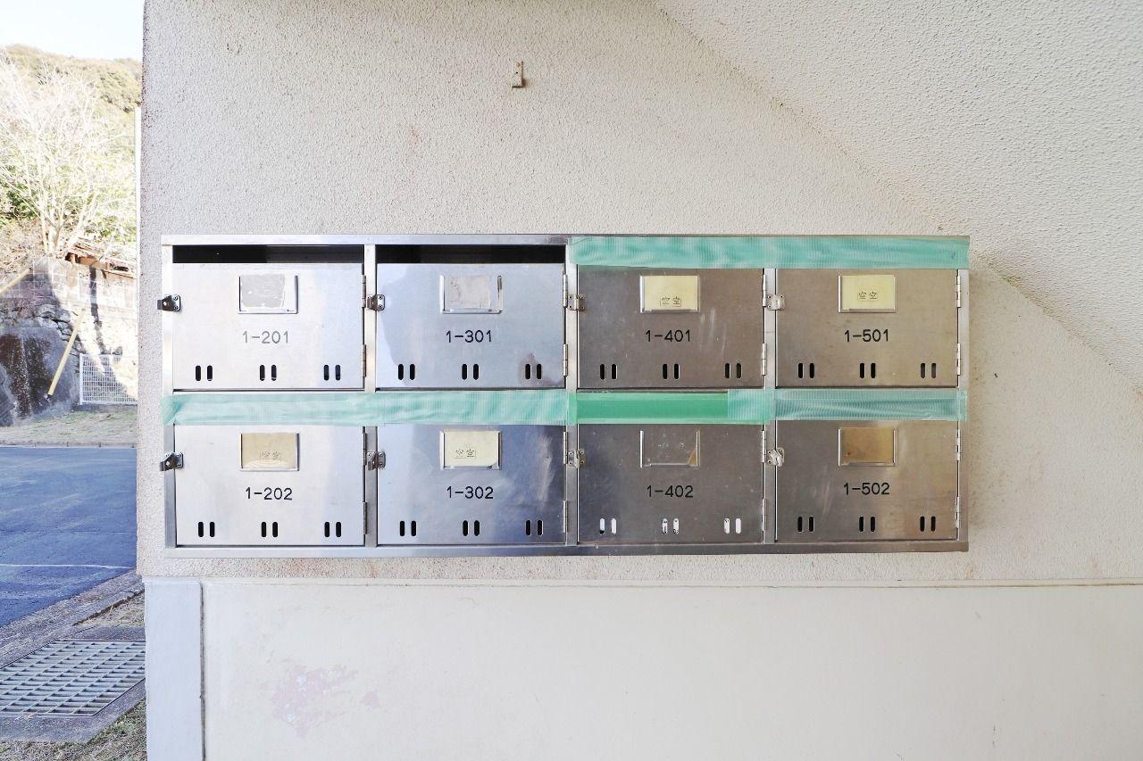 ヤマモト地所の宮本 留伊がご紹介する賃貸マンションのビレッジハウス佐岡1号棟の外観の8枚目