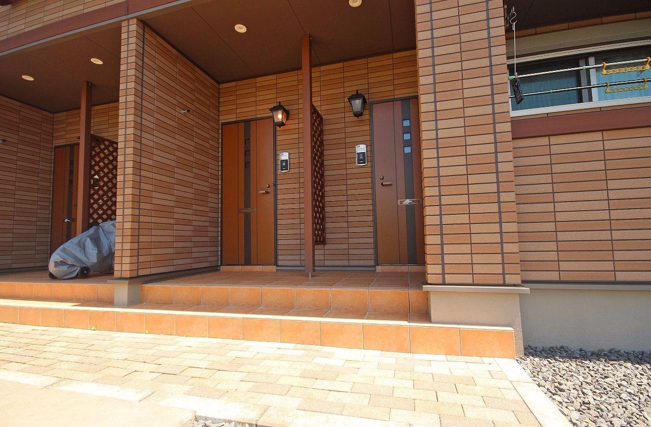 ヤマモト地所の西内 姫乃がご紹介する賃貸アパートのグランド・ソレイユ 202の外観の2枚目