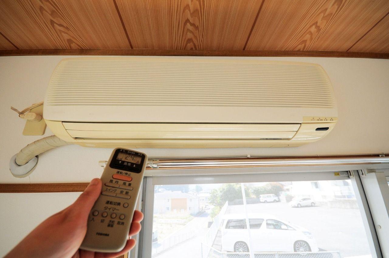 現代ではなくてはならないエアコンも買わなくても設備として付いています。