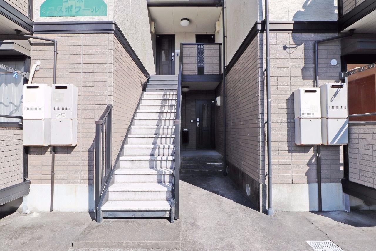 ヤマモト地所の宮本 留伊がご紹介する賃貸アパートのコーポエスポワール 101の外観の1枚目