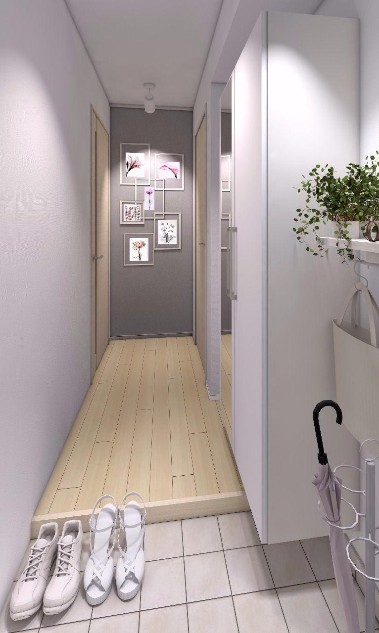 ピクチャーレールやスポットライト、玄関スペースには気配りカウンターもあります。