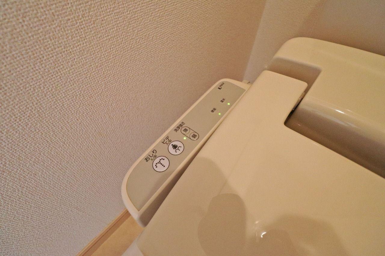 すっきり綺麗に洗い流してくれて、 おしり周りは清潔が保てます。トイレットペーパーの節約にも◎