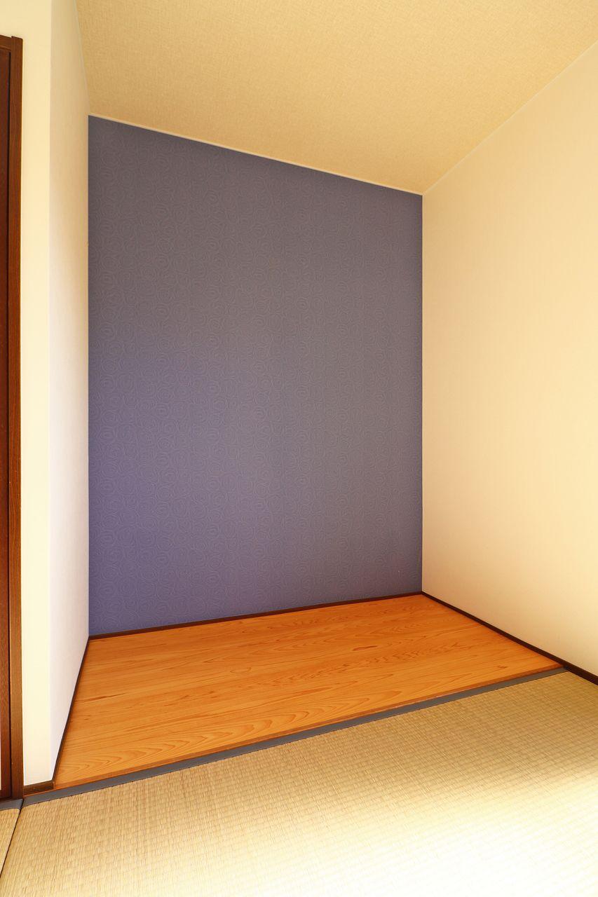 あなたならここに何を置きますか?自分らしいスペースを作り上げてください。