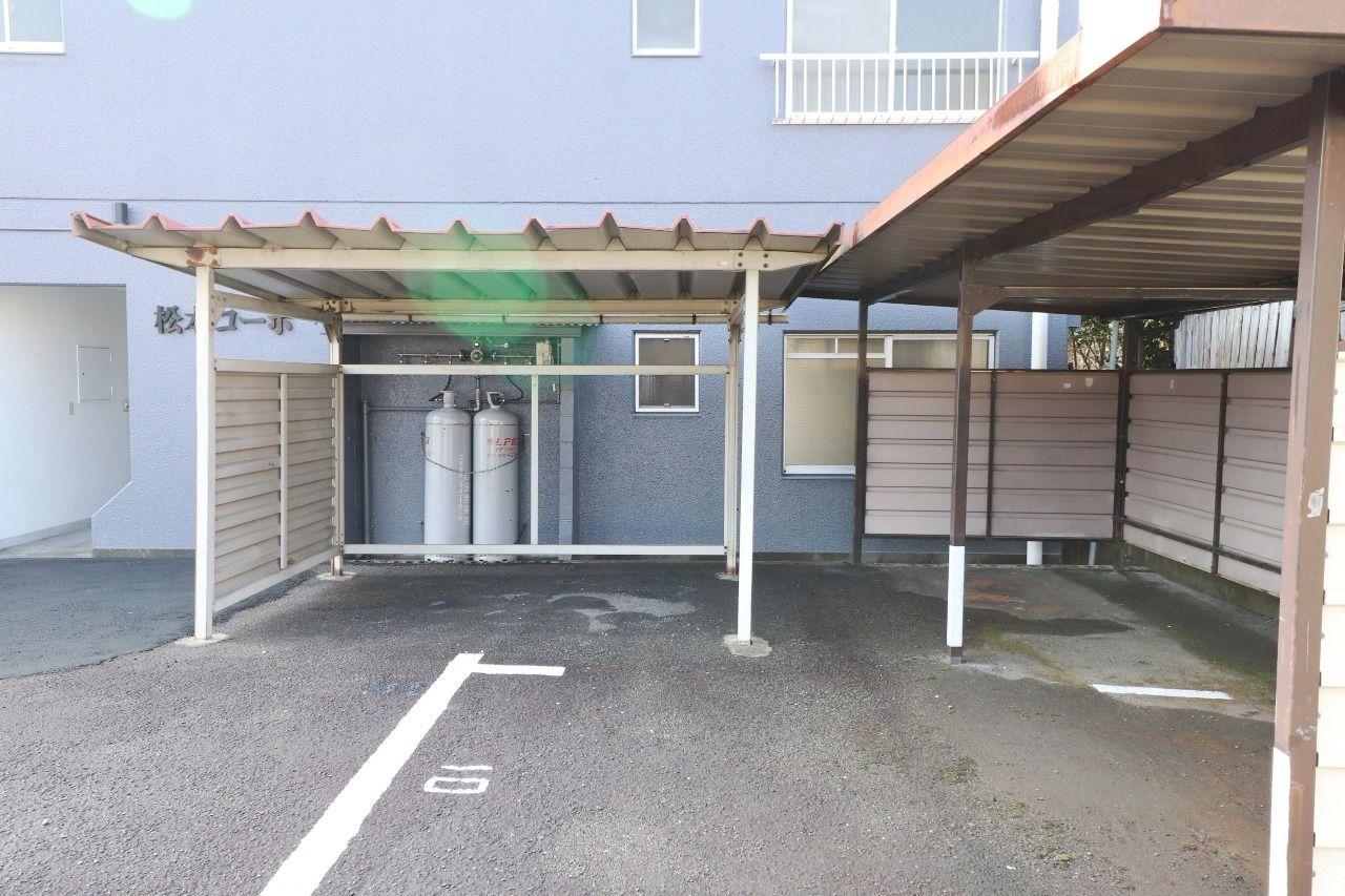 ヤマモト地所の宮本 留伊がご紹介する賃貸マンションの松本コーポ 201の外観の4枚目