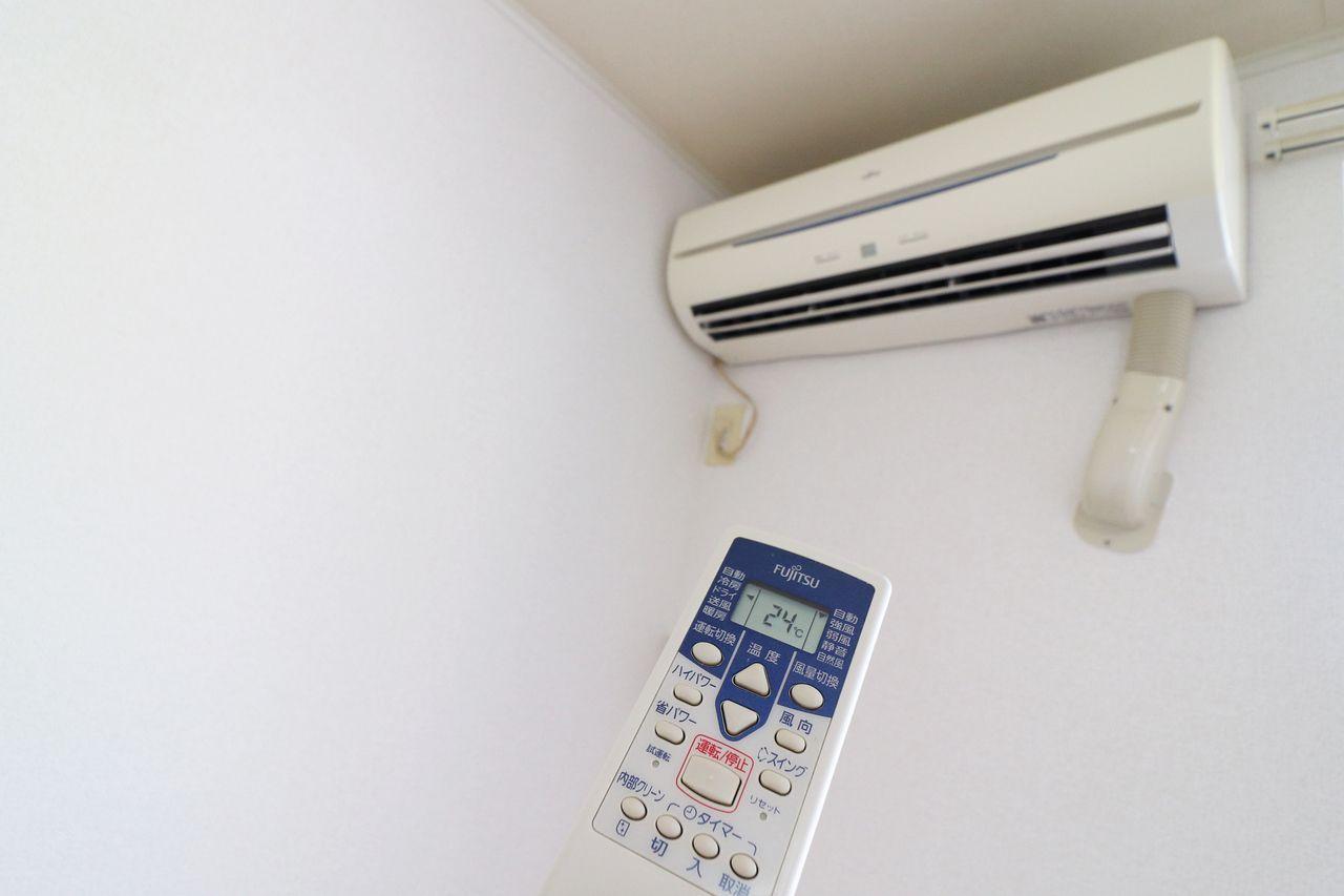夏の暑い日も、冬の寒い日もお部屋の温度調節は大切。快適な空間でくつろげそうです。