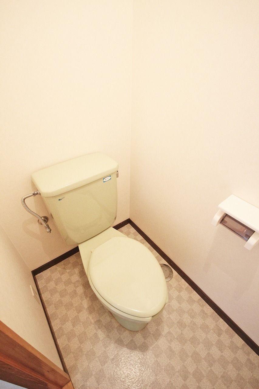 エルパレス1001号室はウォシュレット付き。そして、広さも十分あります。
