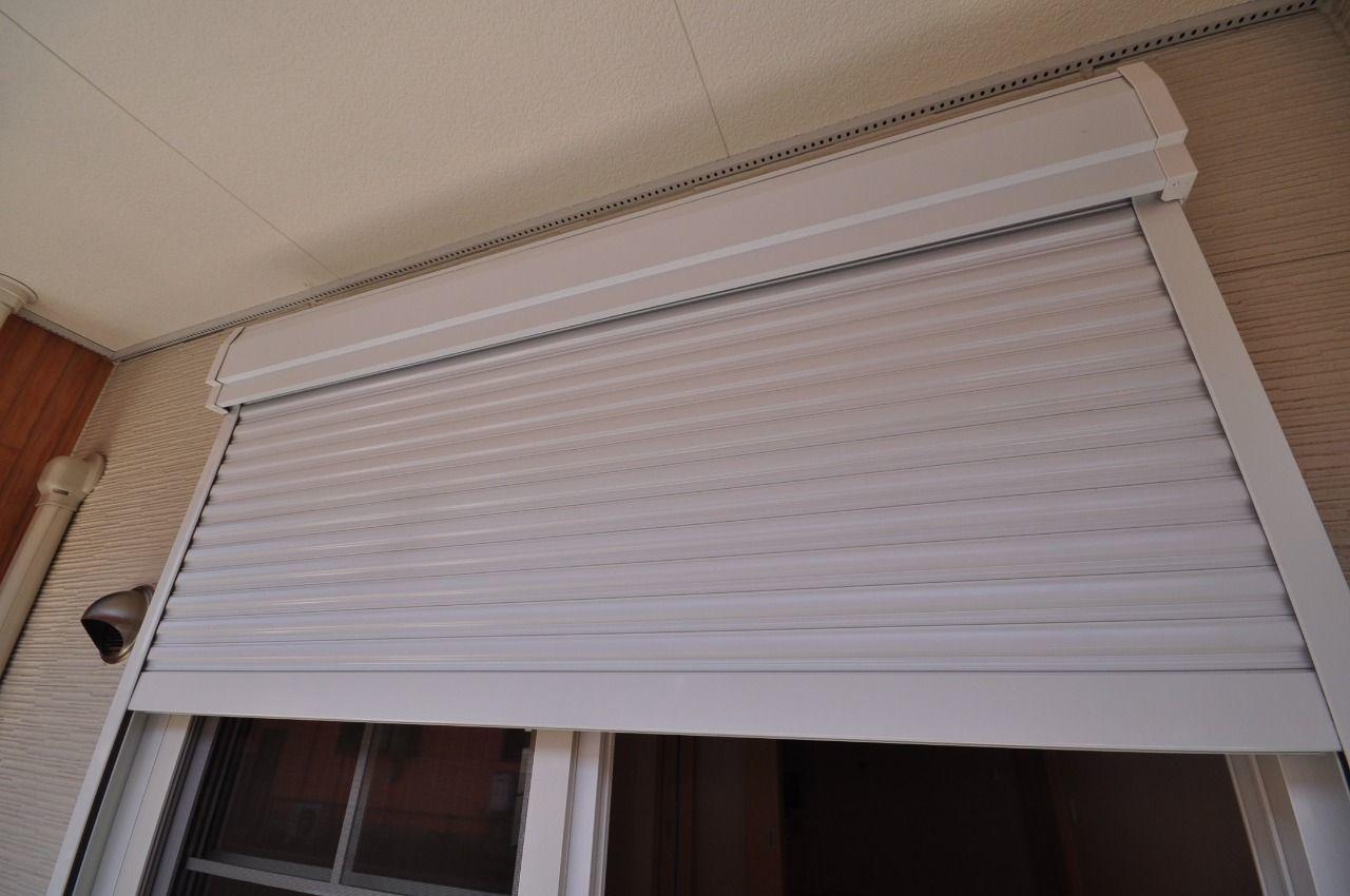 軽い力で開け閉めできる便利なシャッター雨戸。