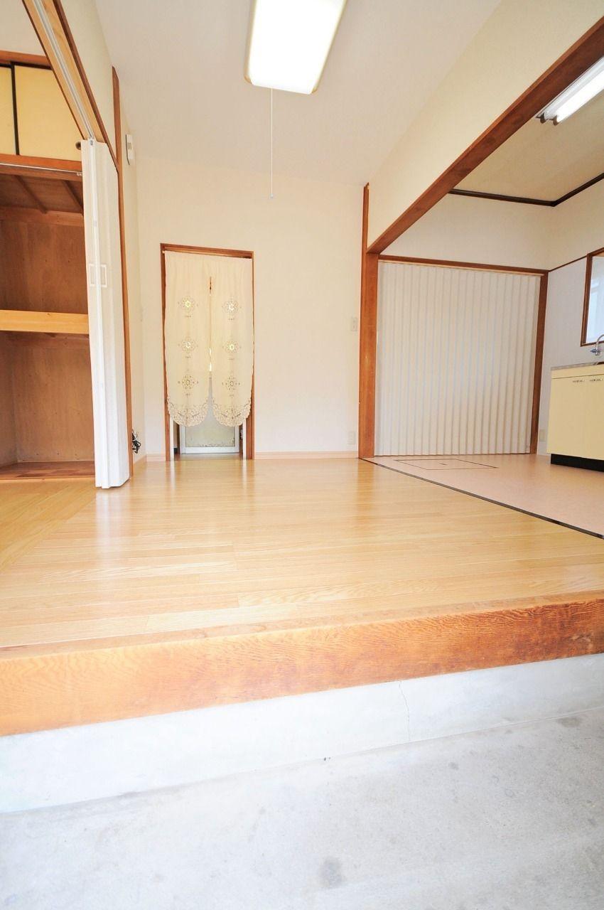 ヤマモト地所の西内 姫乃がご紹介する賃貸一軒家の具同の平家の内観の1枚目