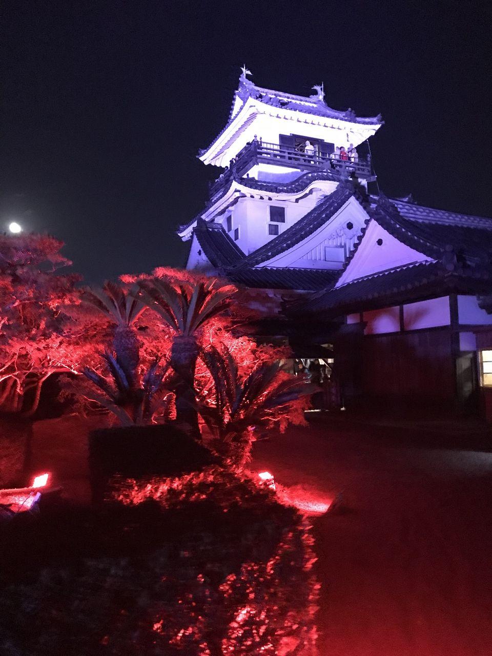 日本唯一の天守と本丸を有する高知城