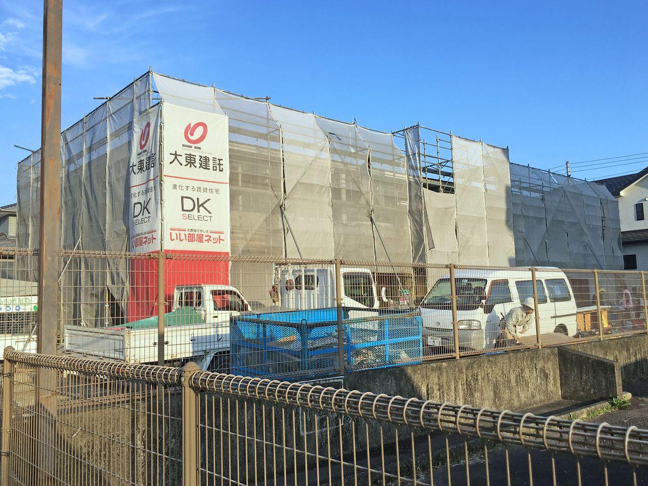 具同小学校近くの新築アパート