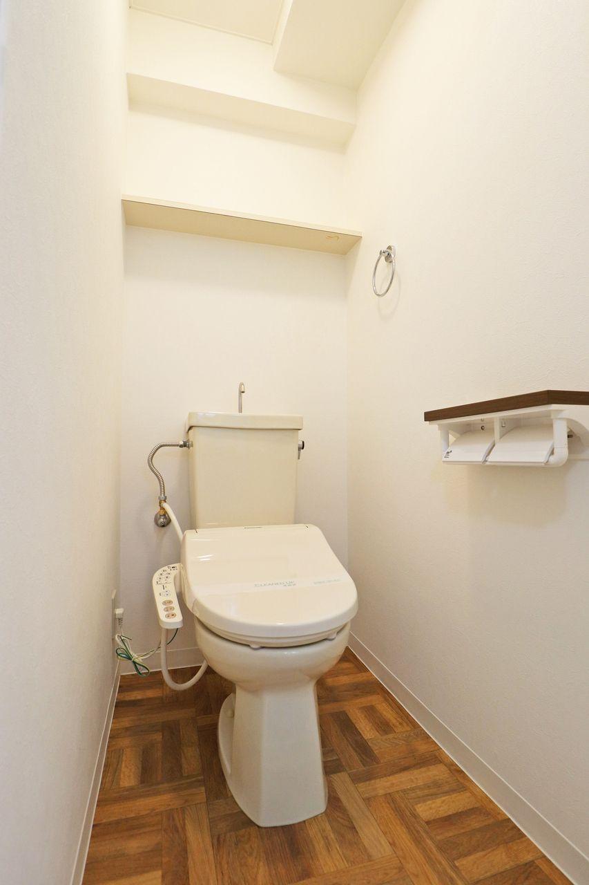 ウォシュレット トイレ コーポ四万十2号館 402号室