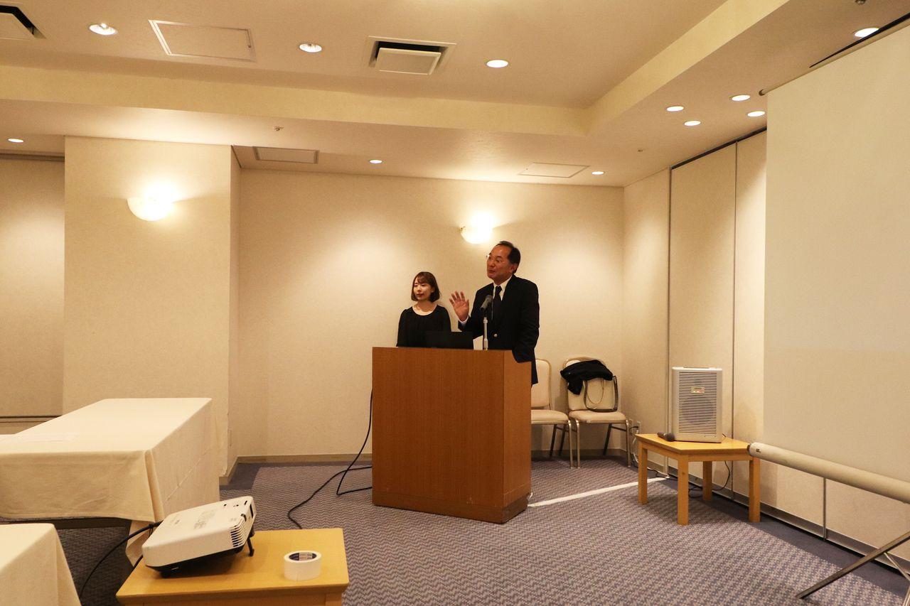 ちんたい研究会、木村様より開会のご挨拶