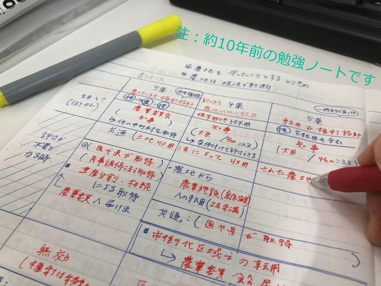 農地法の勉強ノート