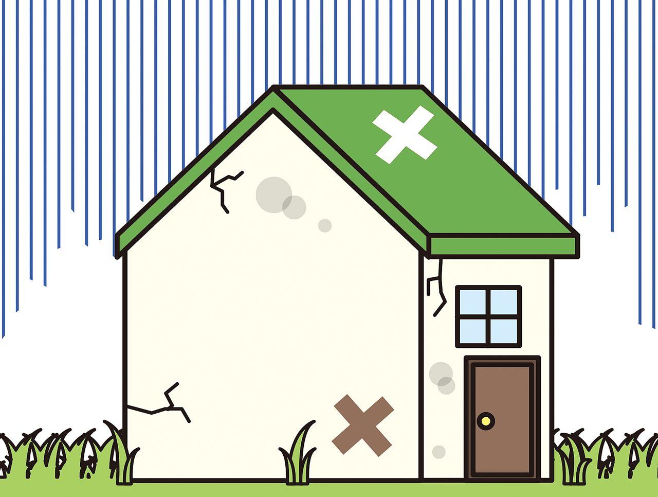 家が老朽化している、価値が無いと思う