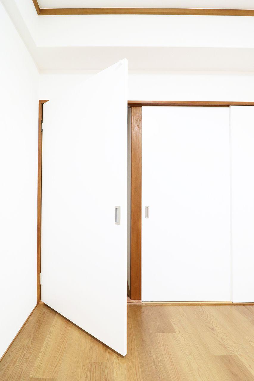 押入れを改装したクローゼット コーポ四万十1号館502号室