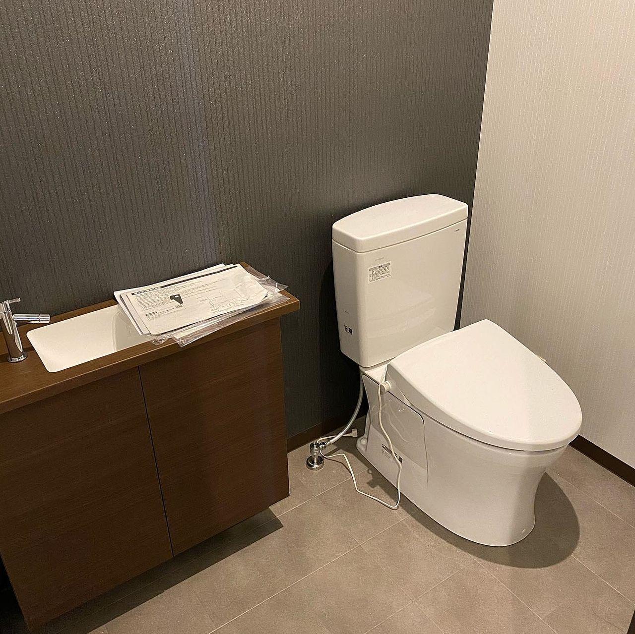 焼肉たかみの2階トイレの写真