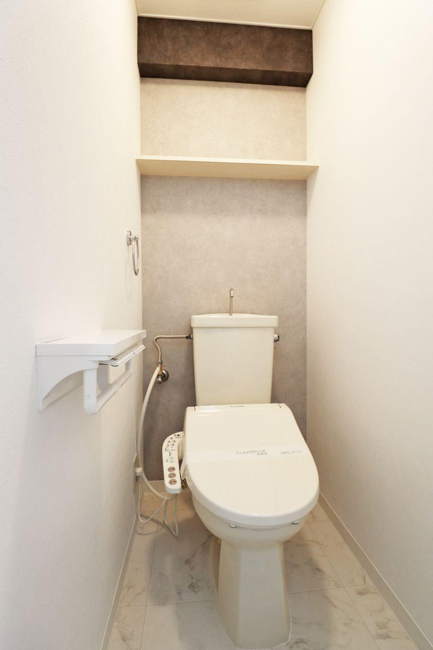 コーポ四万十2号館102号室のトイレの画像です